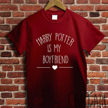 Harry potter shirt harry potter is my boyfriend unisex tshirt