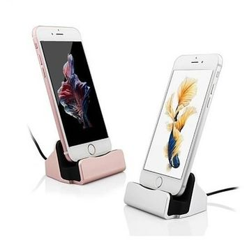 iPhone Charger Dock,BAVIER iPhone Desk Charger,Charge and Sync Stand for Android iPhone 7 7Plus & iPhone se 5s 6 6 Plus,iPhone C