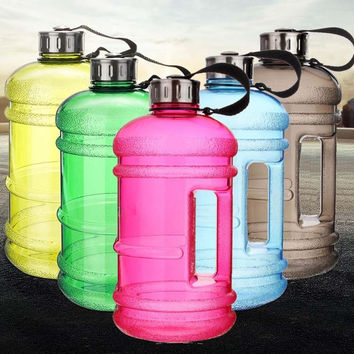 2.2L Sports Large Capacity Water Bottles Gym Fitness Bicycle My Water Bottle Space Cup Shaker BPA Free FREE SHIPPING!