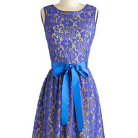 Looking Like a Million Dress in Blue Iris | Mod Retro Vintage Dresses | ModCloth.com