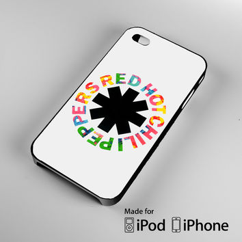Red Hot Chili Peppers A0066 iPhone 4S 5S 5C 6 6Plus, iPod 4 5, LG G2 G3, Sony Z2 Case