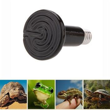 Turtles lizards snakes Frogs Chick heat lamps Reptile Ceramic lamp Amphibian special 220V 25W50W75W100W150W200W Heating lamp