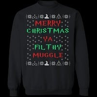 Filthy Muggle Ugly Christmas Sweater