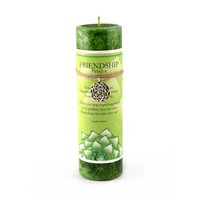 Friendship - Peridot Lotus Candle on Sale for $12.95 at HippieShop.com