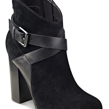 GUESS Women's Lora Suede Booties - Boots - Shoes - Macy's