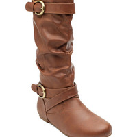 Erin 4 Antique Buckle Slouch Boot