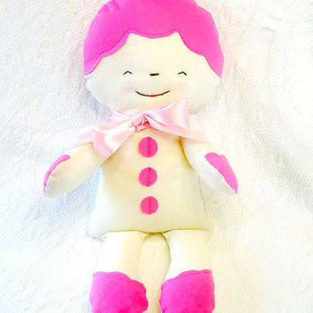 Valentine's Day Sugar Cookie Soft Plush Rag by BoutiqueVintage72