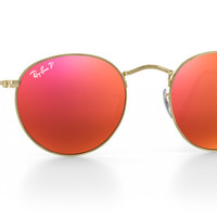 Customize Ray-Ban RB3447 Round Metal Sunglasses | Ray-Ban Canada