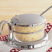 Tablecraft Diner Collection Condiment Server with Spoon 6 oz. at Cooking.com