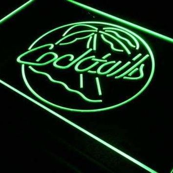 Palm Tree Cocktails Neon Sign (LED)
