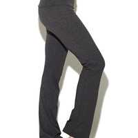 Foldover Solid Yoga Pant
