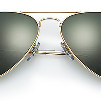 Ray-Ban RB3025 001/58 58-14 AVIATOR CLASSIC Gold sunglasses | Official Online Store US