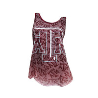 Cameo Texas A&M Burnout Tank Top