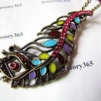 ancient necklace feather sign pandent women chain by braceletcool