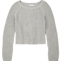 Shaker Crop Sweater