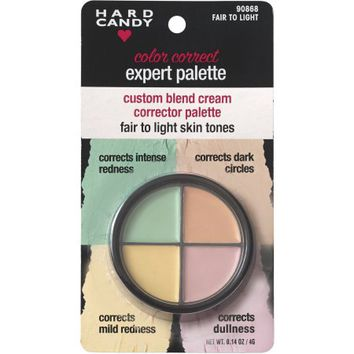 Hard Candy Color Correct Expert Palette, Fair to Light Skin Tones, .14 oz - Walmart.com