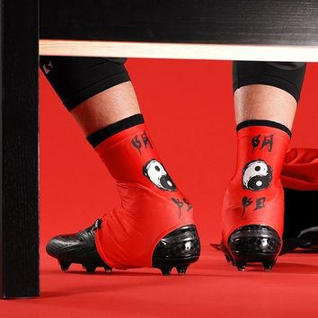 Yin Yang Red Spats / Cleat Covers