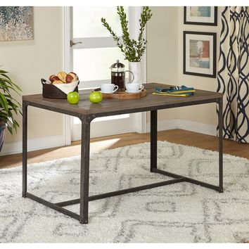 Simple Living Scholar Vintage Industrial Dining Table - Free Shipping Today - Overstock.com - 20818908