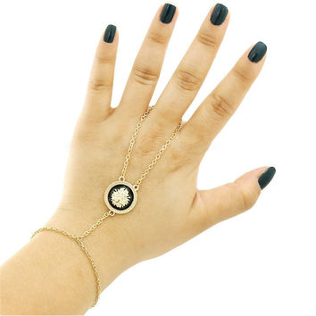 Shiny Great Deal Hot Sale Gift New Arrival Awesome Stylish Simple Design Gold Bracelet [4918892292]