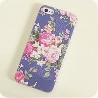 Floral Print Case for iPhone