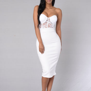 First Choice Dress - White