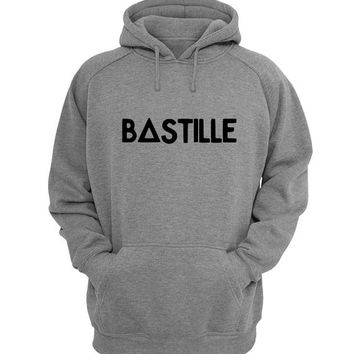 bastille Hoodie Sweatshirt Sweater Shirt Gray for Unisex size with variant colour