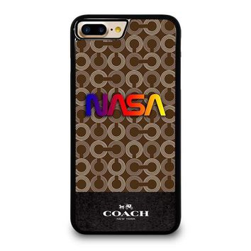 coach new york nasa iphone 4 4s 5 5s se 5c 6 6s 7 8 plus x case  number 2
