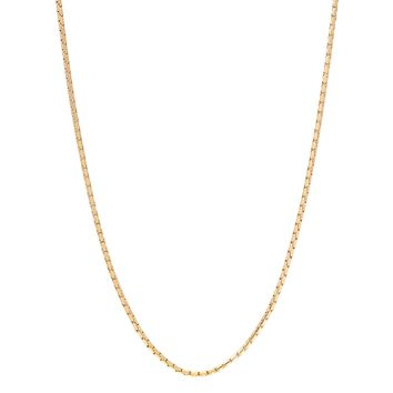 "24"" 2.5 mm Snake Chain Necklace in Gold Ion Plated Stainless Steel"