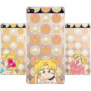 Sailor Moon Soft Case for Huawei Honor Phones