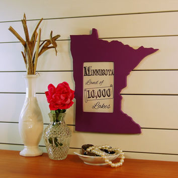 Minnesota picture frame 4x6