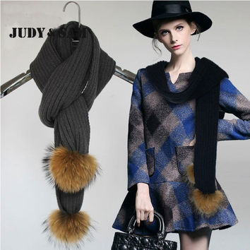 16 Colors Hot Sale 2015 Winter Fashion Blanket Scarf Female Blend Wool Scarf Shawl Warm Thick Scarves Cape Wraps