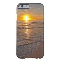 Case: Sunset by the Beach Barely There iPhone 6 Case
