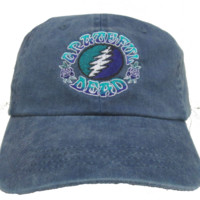 Grateful Dead Bolt Premium Embroidered Baseball Hat