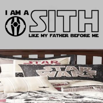 I am a Sith like my father before me Star Wars Theme Jedi Parody