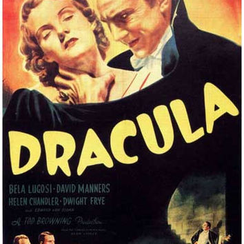 Dracula Bela Lugosi Movie Poster 11x17