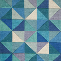 Delhi Hand-Tufted Rug, Blue - Contemporary - Area Rugs - by Momeni Rugs