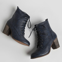 Alpha Lace-Up Booties