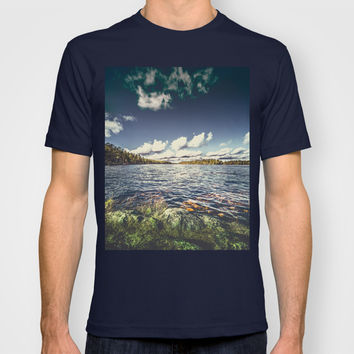 End of the road T-shirt by HappyMelvin