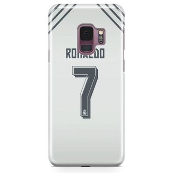 Cristian Ronaldo Real Madrid Jersey New Kit Samsung Galaxy S9 Plus Case | Casefantasy