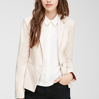 Single-Button Cutaway Blazer