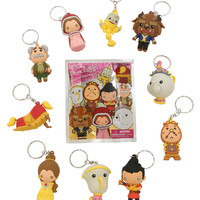 Disney Princess Beauty And The Beast Figural Key Chain Blind Bag