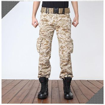 CAMO Cargo pants Adult camouflage overalls men Straight joggers battlefield CAMO leisure Trousers Male Long pants Big boys