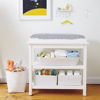 Baby Changers: Baby White Durable Changing Table in Changing Tables | The Land of Nod