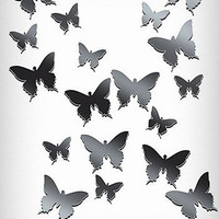 Butterflies Mirrored Wall Art | PLASTICLAND