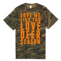 Deer Season-Unisex Green T-Shirt