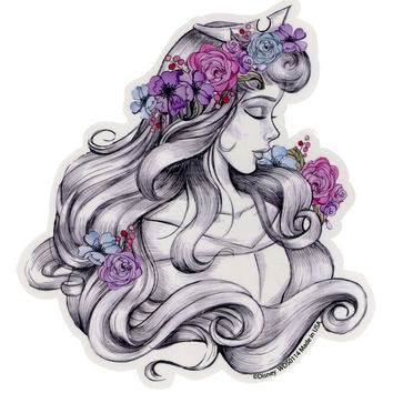 Disney Sleeping Beauty Sketch Sticker