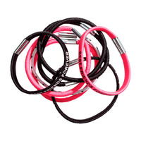 H&M - 8-pack Hair Elastics - Pink - Kids