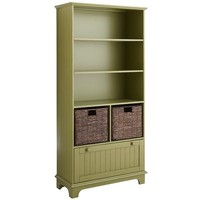 Holtom Bookcase - Antique Green