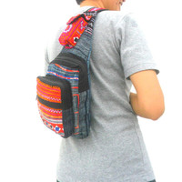 Sling Backpack crossbody bag Sling bag shoulder bag Messenger Bag Backpack Artistic bag Hippie Boho Hobo Bag Sling Multicolor Gift bag