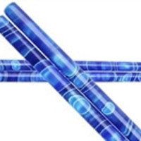 Blue Ribbons Colorful Handmade Acrylic Chopsticks